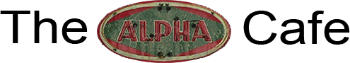 The Alpha Cafe, Logo